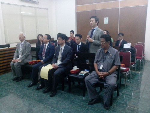 Japan Federation of Bar Association visit Jakarta 2014