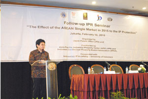 Mr. Ahmad M. Ramli (Director General at the Directorate of General Intellectual Property Rights (DGIPR))