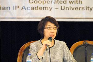 Ms. Sachio Yoshino (Deputy Director, International Cooperation Division of JPO)
