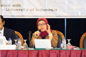 Ms. Ika Ahyani Kurniawati, (Head of Promotion, Directorate General of Intellectual Property Right)