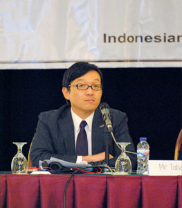 Mr. Shimpei Yamamoto (Managing Director Research Affairs, Economic Research Institute for ASEAN and EAST Asia (ERIA))